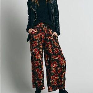 Free People floral pants